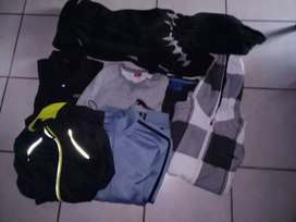 T shirts and jackets for sale medium and Large R50 each