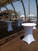 Коктейльный стол, стулья, текстиль, посуда в аренду