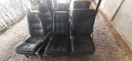 Helicopter /chopper leather seats