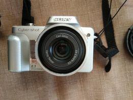 Фотоапарат sony cuber - shot DSC - H3