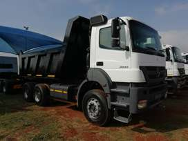 Various used 2011 to 2012 Mercedes Benz 3335 Axor Tippers for sale