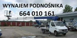 Wynajem podnośnika Łódź, zwyżka, podnośnik koszowy Łódź, podest, 20m