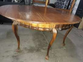 Antique stink wood dinning room table