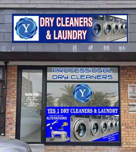 Yes 1 Dry Cleaners and Laundry.