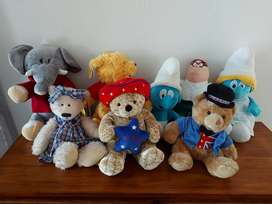 Collection of stuffed Toys