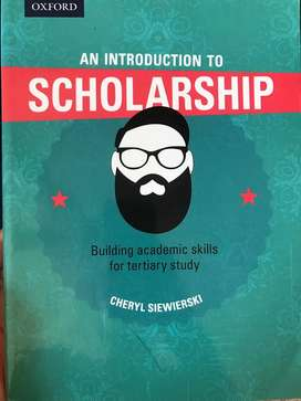 Introduction to Scholarship TextBook