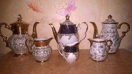 Немецкий германский фарфор чайник и молочник Бавария