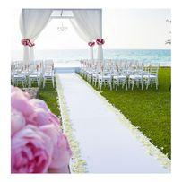 Biały dywan 25m