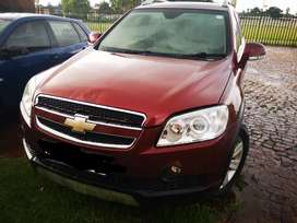 Stripping of chevrolet captiva for parts