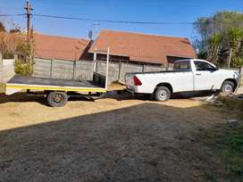 Bakkie and trailer hire