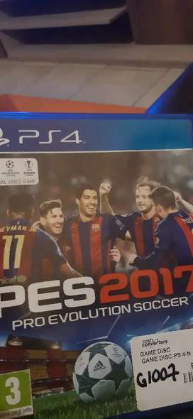 PES2017 for ps4