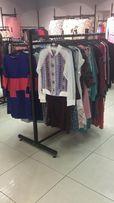 Продам торговые стойки (телега, гондола, книжка) б/у для одежды в зал