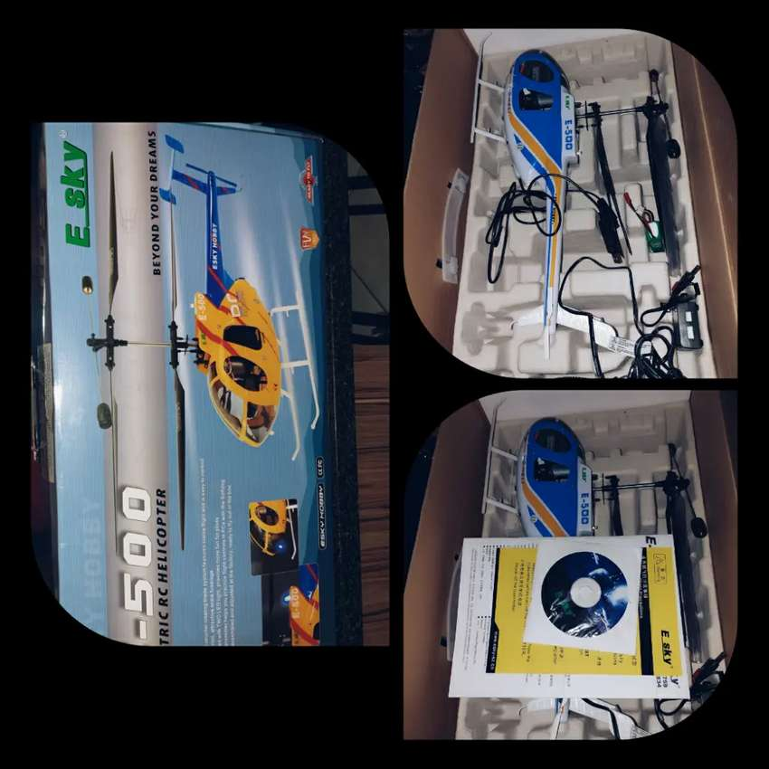 Electric Rc Helicopter E-500 0