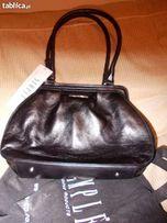 SIMPLE nowa torebka czarna skóra kraków/massimo/zara
