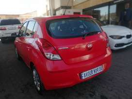 2012 Hyundai I20 1,6 engine capacity