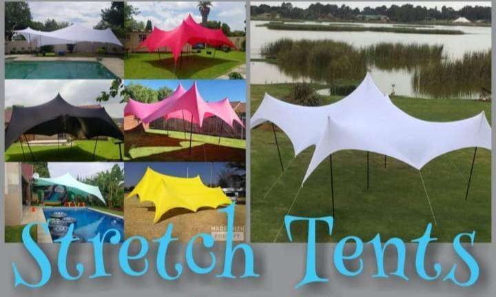 Waterproof stretch tents 0
