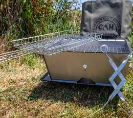 "BRAND NEW ""CAM"" FLAT COLLAPSIBLE BRAAI"
