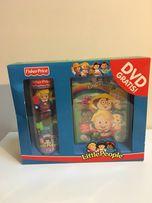 2 figurki Little People + DVD