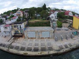 Дача Ковалевского, первая линия, панорамный вид на море.