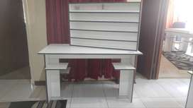 NAIL TABLE AND PRODUCT SHELF R1200