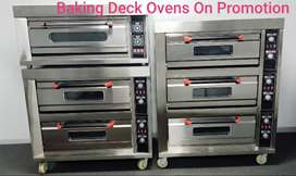Baking Ovens, Bread Ovens, Deck Ovens All On Promotion