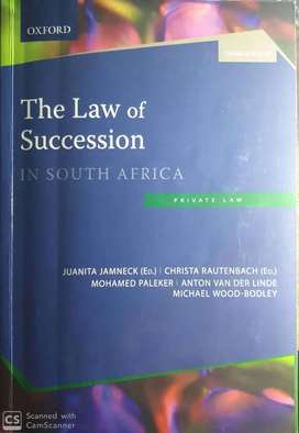 Unisa textbooks law of succession 3rd ed