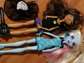 Clawdeen Wolf and Abby Bominable Monster High Dolls