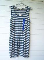 Sukienka Olive&oak rozm. L/XL w paseczki nowa z USA
