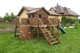 Domek dla dzieci drewniany - dowóz na ternie całej Polski!