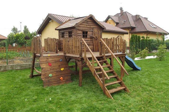 Domek dla dzieci drewniany - dowóz na ternie całej Polski! Ośno Drugie - image 1