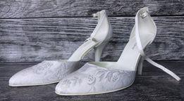 Nowe buty ślubne Growikar r.40