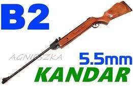 Wiatrówka sprężynowa łamana Kandar 5,5 mm