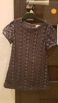 Sukienka z gipiury Zara rozm.116cm