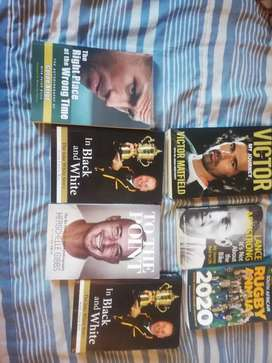 Various Sports Books in good condition