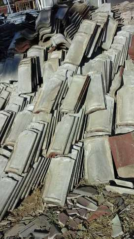Second hand tuscan concrete roof tiles for sale