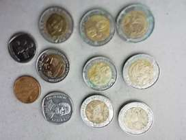 I'm willing to sell my 11 collection's coins