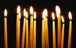 Свечи церковные (свічки церковні)