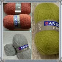Пряжа для вязания Ангора мохер