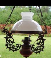 Stara Lampa Secesja Naftowa