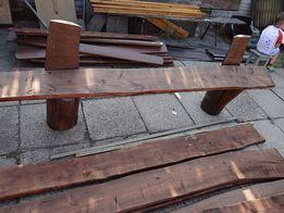 Ławki drewniane solidne