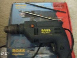 Обменяю дрель Boss PDI 13 (700 W) на сетевой шуруповёрт или фрезер