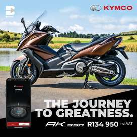 NEW KYMCO SCOOTERS NOW ON SPECIAL