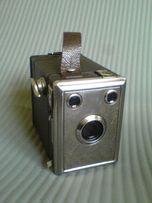 Zabytkowy francuski aparat skrzynkowy
