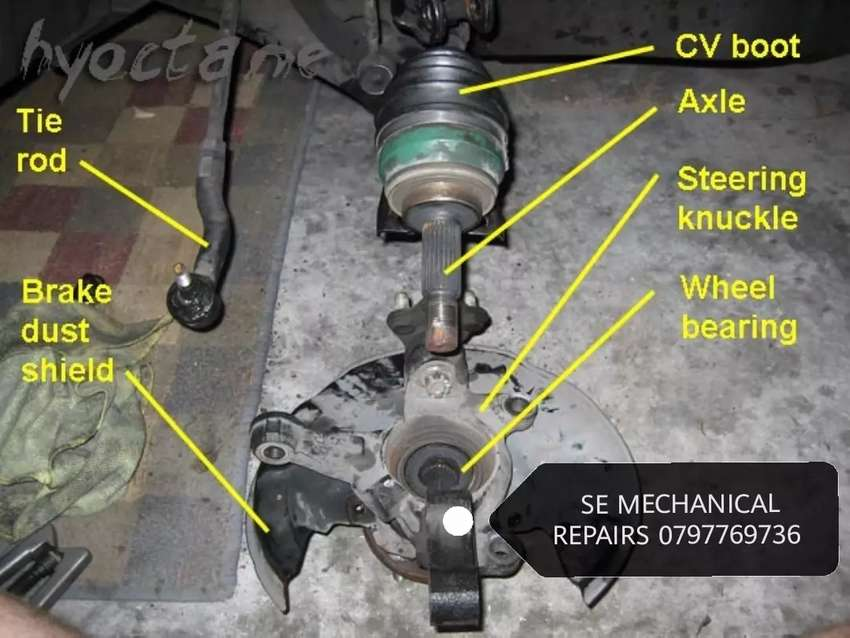 Cv joints service and repairs