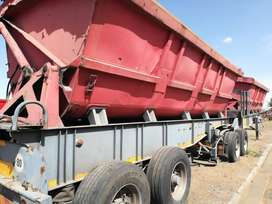 2006 SA Truck bodies link side tipper!