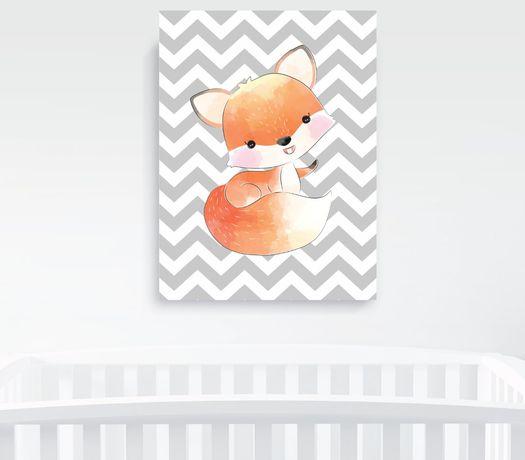 Obrazek A4 plus ramka, Baby Fox Pszczyna - image 5