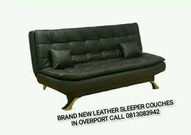 Brand new leather sleeper couches sofa beds on promotion offer