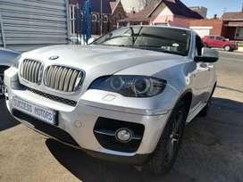 2010 BMW X6 35d Auto with a sunroof