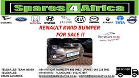 RENAULT KWID BUMPER FOR SALE