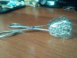 Продам красивые щипцы для сахара серебро